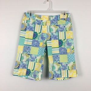 Lilly Pulitzer Safari Patchwork Bermuda Shorts. 2